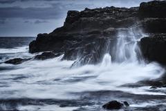 Dänemark,Färöer Inseln,Eysturoy,Felsenkueste bei Æðuvik,Denmark, Faroe Islands, Eysturoy, rocky coast at Æðuvik,