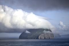 Denmark, Faroe Islands, Vágar, clouds,