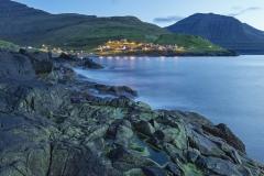 Dänemark,Färöer Inseln,Eysturoy,Fischerdorf Elduvik,Denmark, Faroe Islands, Eysturoy, fishing village Elduvik,
