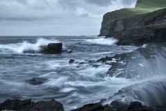 Denmark, Faroe Islands, Suðuroy, fishing village Sumba