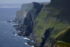 Dänemark,Färöer Inseln,Suðuroy,Skarvastakur,Beinisvorð,Felsenküste, nördlich von Sumba,Denmark, Faroe Islands, Suðuroy, Skarvastakur, Beinisvorð, rocky coast, north of Sumba,