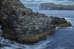 Dänemark,Färöer Inseln,Eysturoy,Blick auf Risin und Kellingin,Denmark, Faroe Islands, Eysturoy, view of Risin and Kellingin