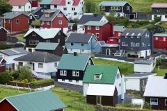 Dänemark,Färöer Inseln,Eysturoy,Fischerdorf Funningur,Denmark, Faroe Islands, Eysturoy, fishing village Funningur